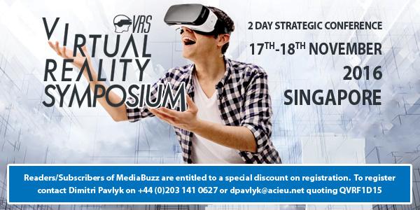 Virtual Reality Symposium 2016